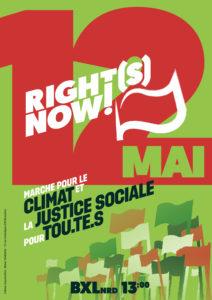 Right(s) Now! - Marche pour le climat et la justice sociale @ Gare de Braine-l'Alleud