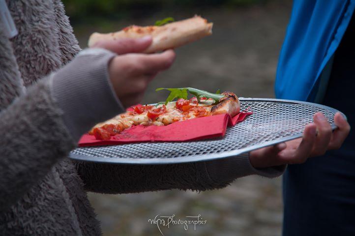 Pizzas Fête de la Transition Brigade des Pâtons