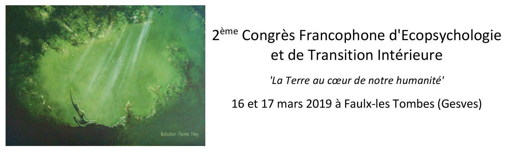 2e Congrès francophone d'Écopsychologie et e Transition Intérieure