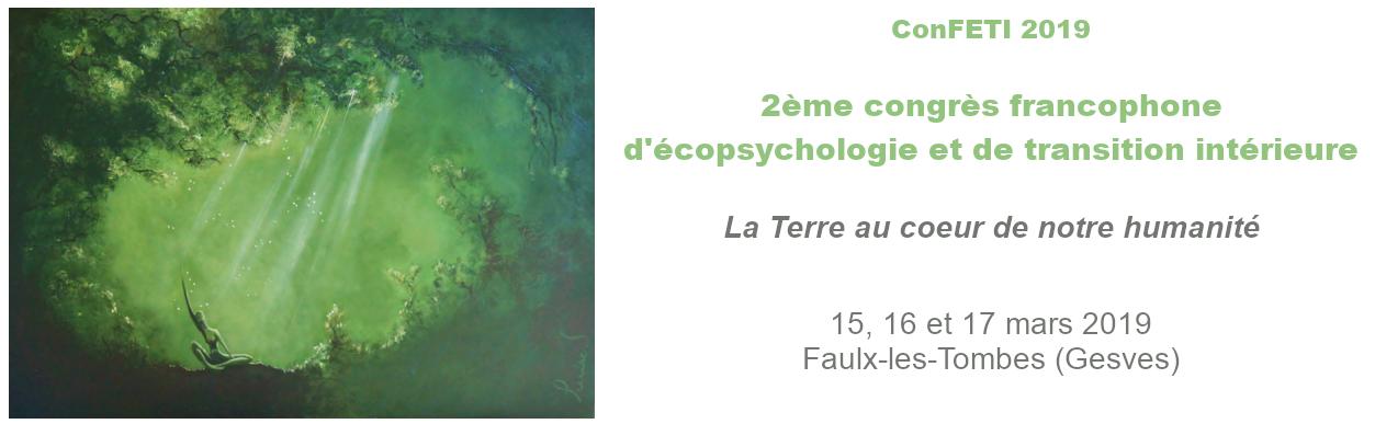 2ème Congrès francophone d'Écopsychologie et e Transition Intérieure