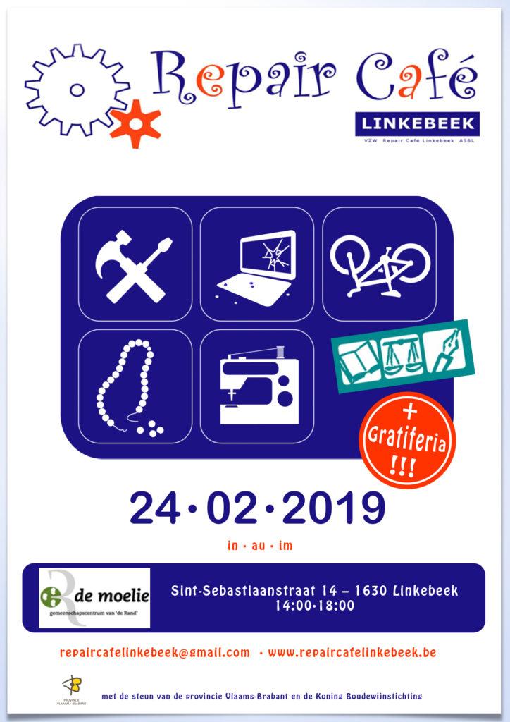 Repair Café Linkebeek @ GC De Moelie