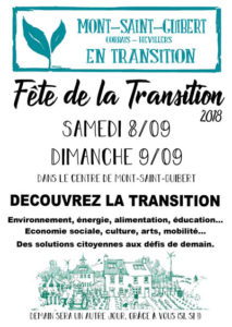 Fête du Mouvement Transition de Mont-Saint-Guibert