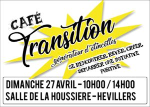 Café Transition / Générateur d'étincelles @ salle de la houssière | Mont-Saint-Guibert | Wallonie | Belgique