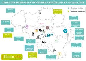 Carte des monnaies locales