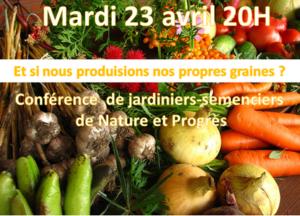 Et si nous produisons nos propres semences? @ Salle 1815 - Maison Multi Services @ Rue Haute, 5 LIGNY