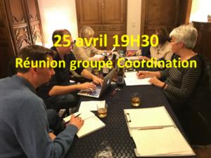 Réunion Groupe Coordination @ Chez Paule @ Rue Emile Pirson, 2a Sombreffe