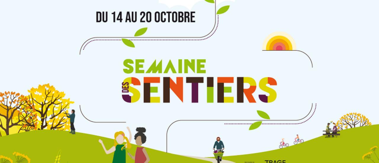 Semaines des sentiers 2019 : RDV le 20 octobre
