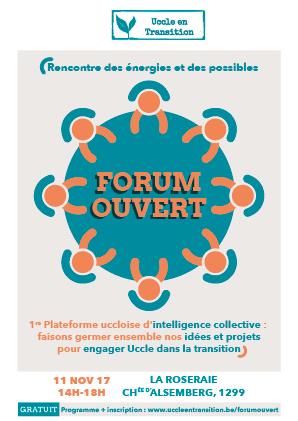 Forum ouvert : rencontre des énergies et des possibles