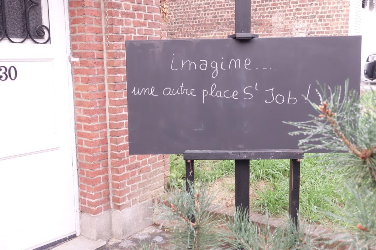 Imagine la place Saint-Job
