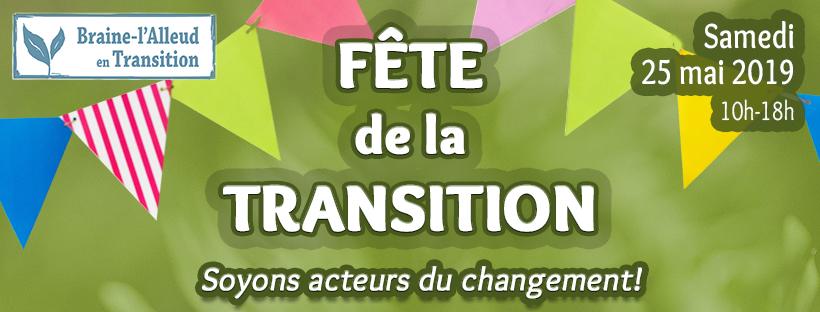 affiche pour la fête de la Transition de Braine-l'Alleud