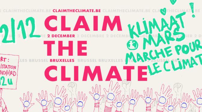 Marche pour le climat le dimanche 2 décembre