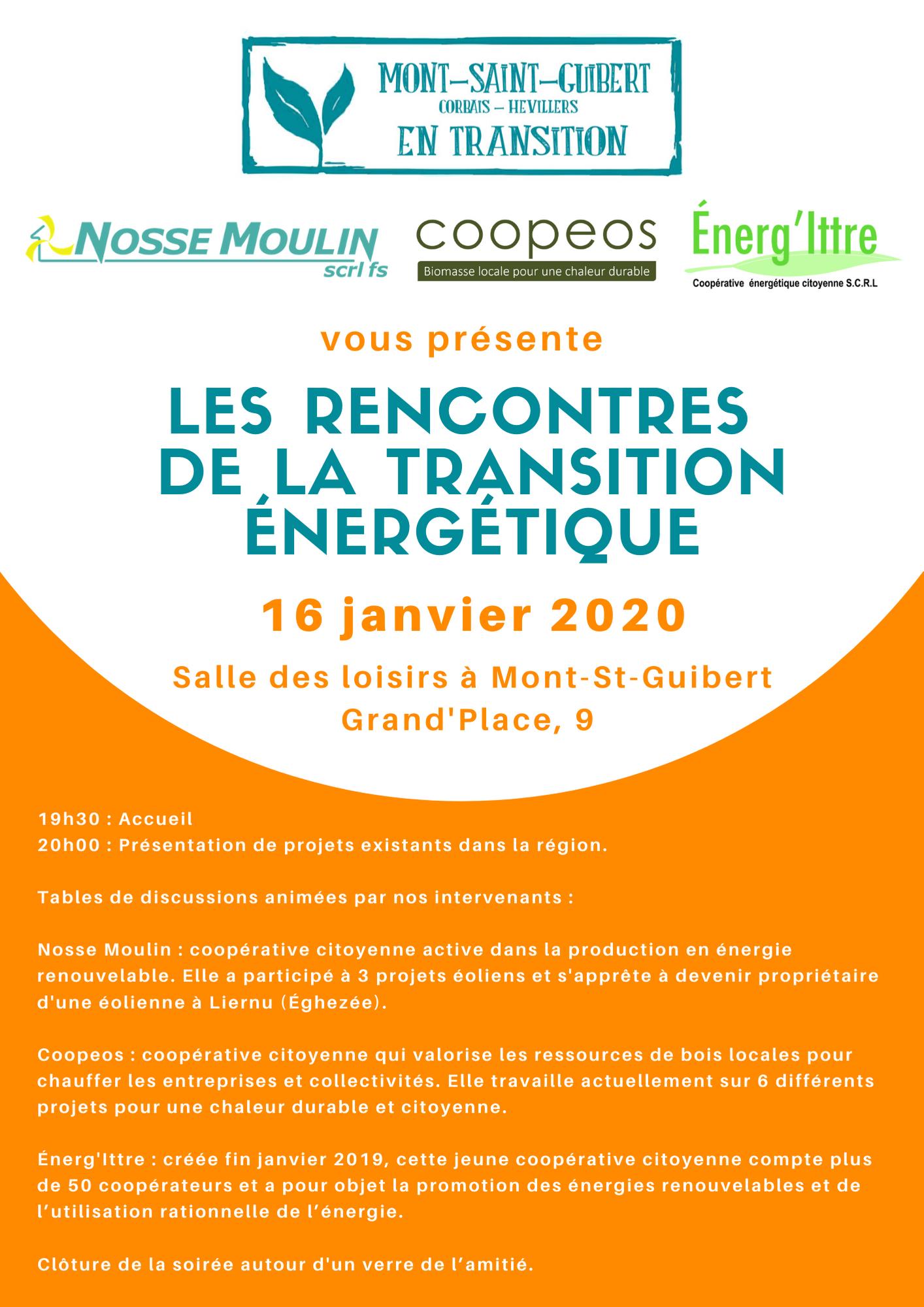 Les Rencontres de la Transition Energétique