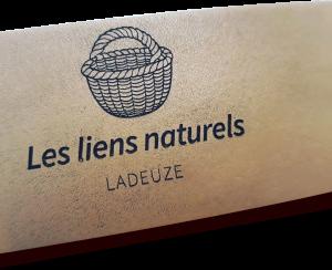 """logo de """"Les liens naturels"""""""