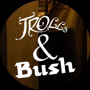 "Logo de "" Trolls & Bush"""