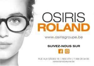 """logo de """"Optique Osiris Roland"""""""