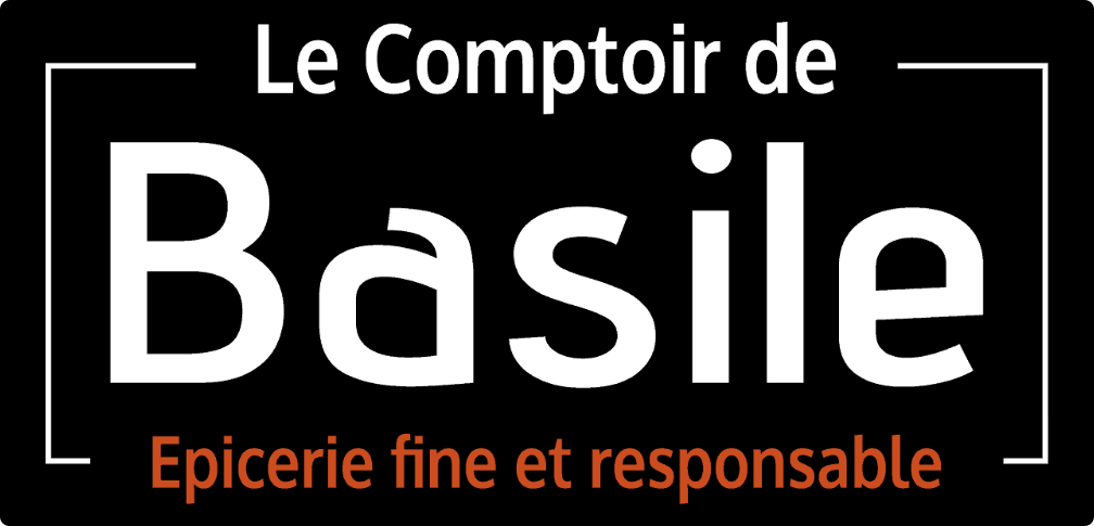 "Logo de ""Le Comptoir de Basile"""