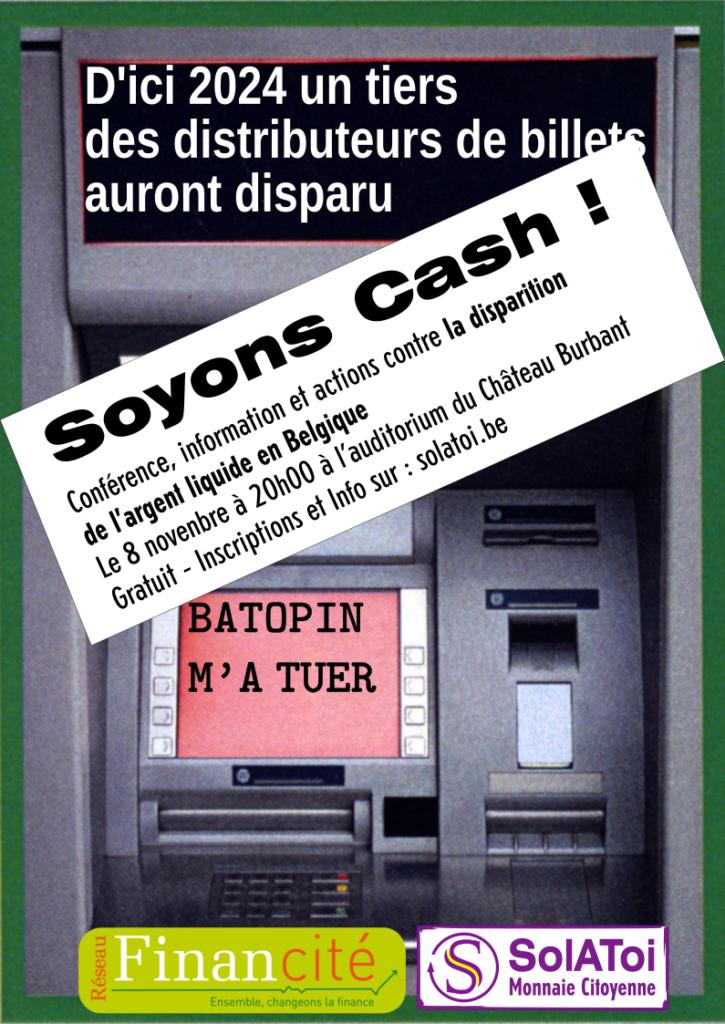 """Conférence """"Soyons cash ! """" @ Auditorium du Château Burbant"""